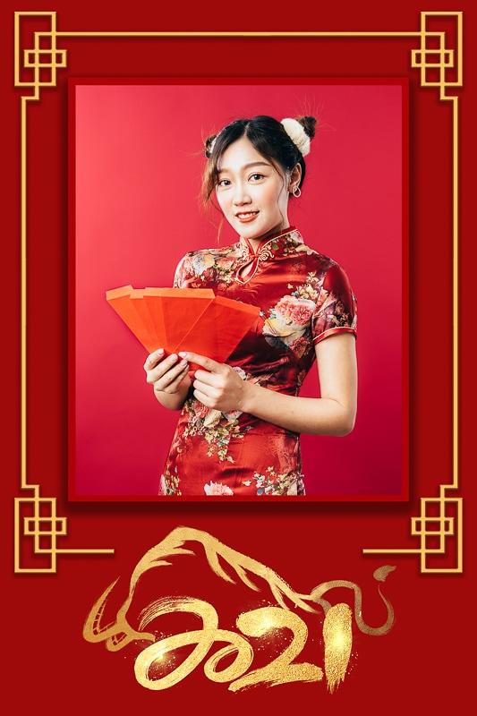 2021 chinese new year005 2021旗袍新年照