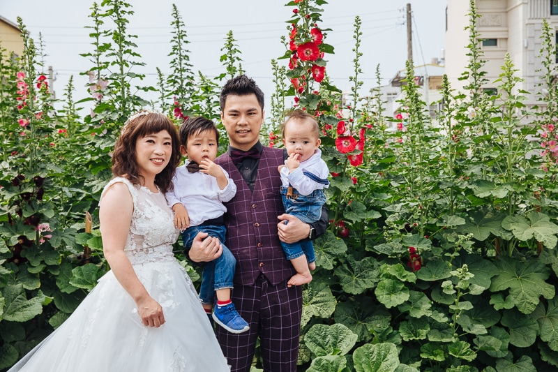 Family4 005 全家福 in Park