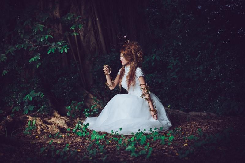 Forest bride 1 婚紗寫真-Rose