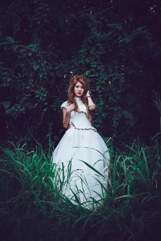 Forest bride 10 婚紗寫真-Rose
