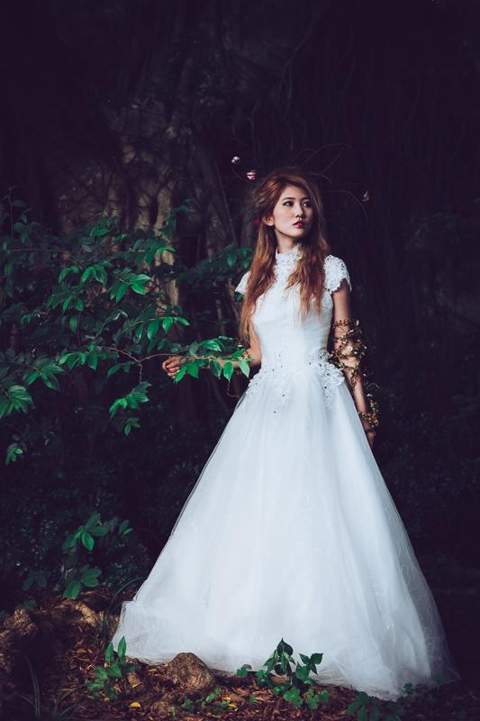 Forest bride 2 婚紗寫真-Rose