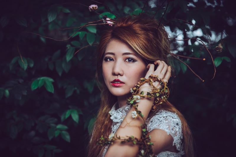 Forest bride 3 婚紗寫真-Rose