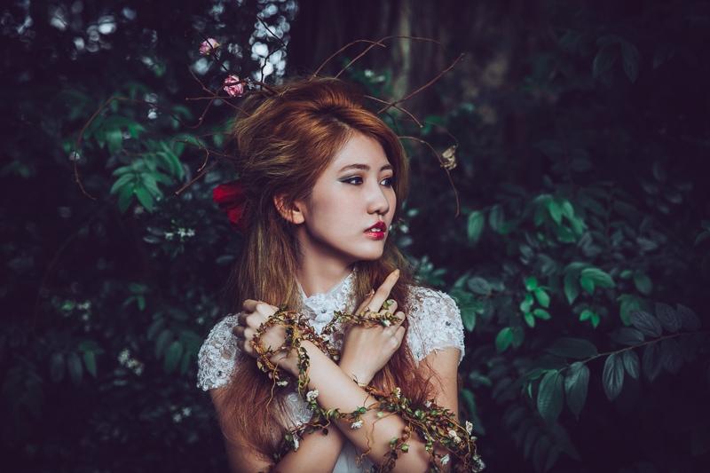 Forest bride 4 婚紗寫真-Rose