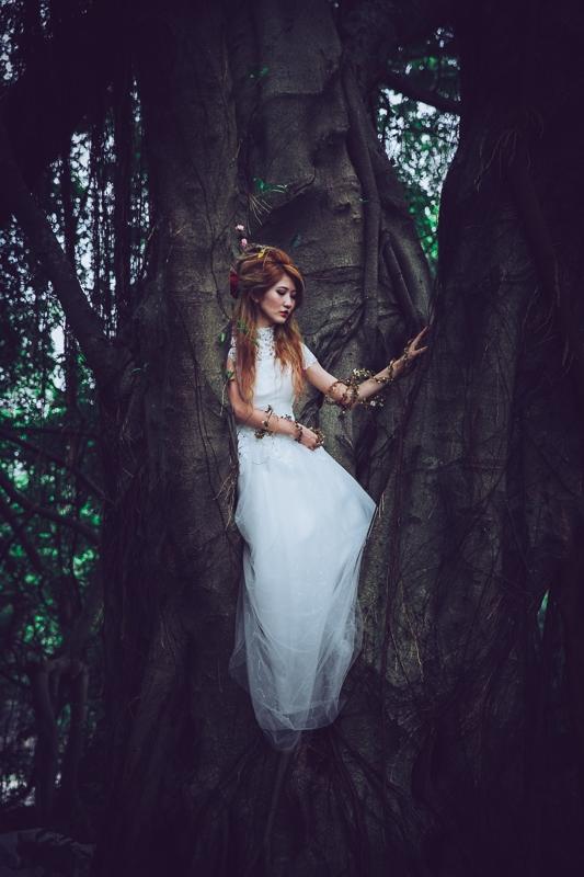 Forest bride 6 婚紗寫真-Rose