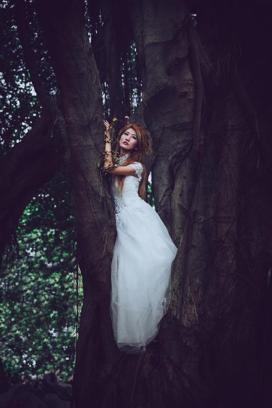 Forest bride 7 婚紗寫真-Rose