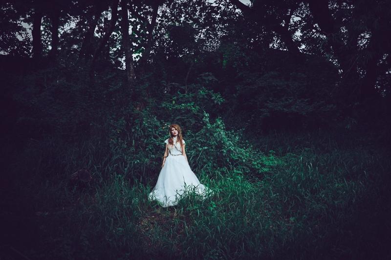 Forest bride 8 婚紗寫真-Rose