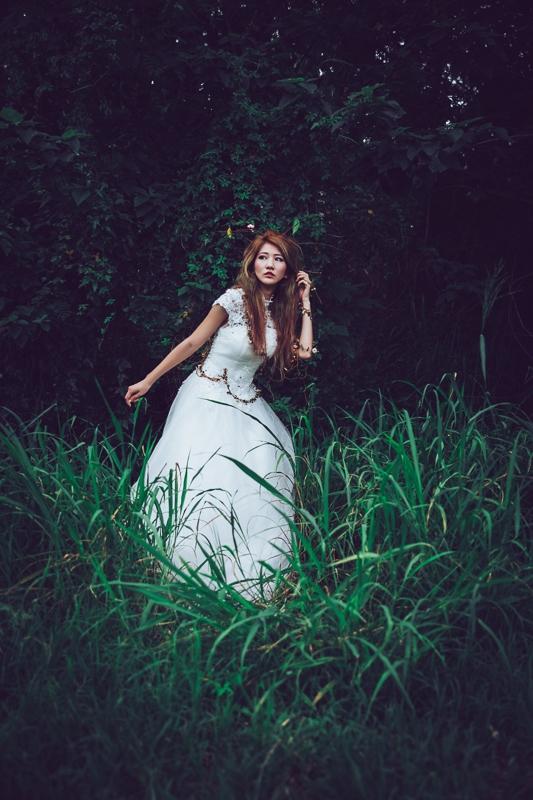 Forest bride 9 婚紗寫真-Rose