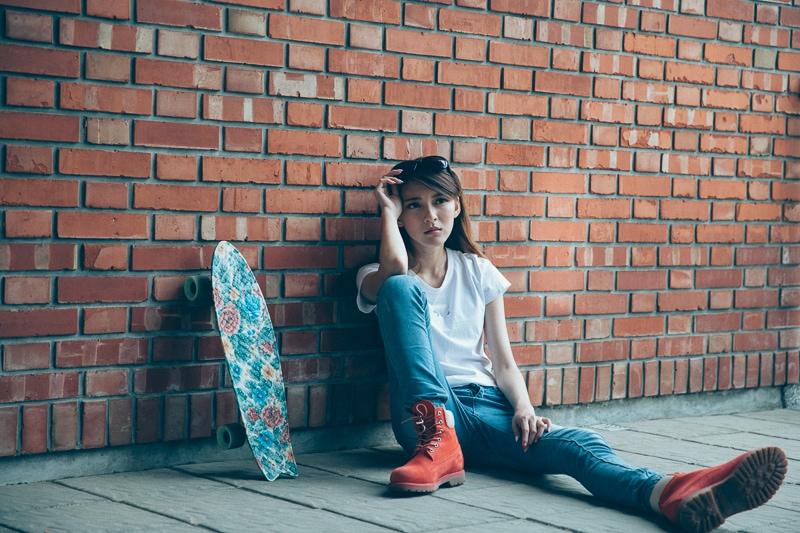 Girl Skaters 1 人像寫真-滑板少女