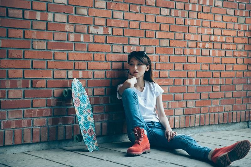Girl Skaters 2 人像寫真-滑板少女