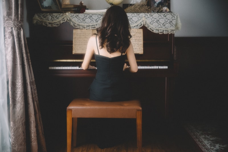 Piano teacher 8 人像寫真-The Final Lesson