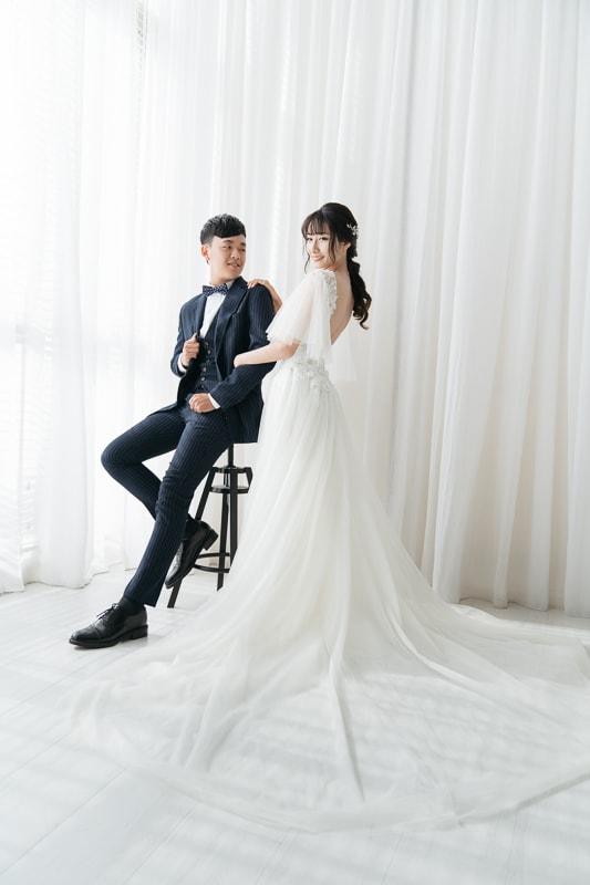 Pure White 3 婚紗寫真-Pure White