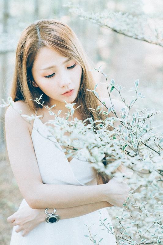 Tianwei girl004 田尾小葉欖仁森林