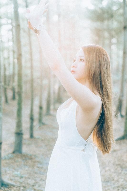 Tianwei girl008 田尾小葉欖仁森林