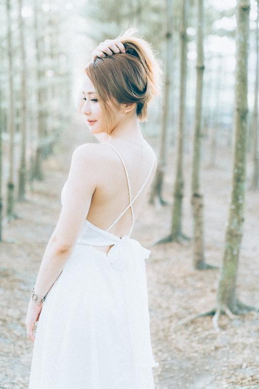Tianwei girl009 田尾小葉欖仁森林