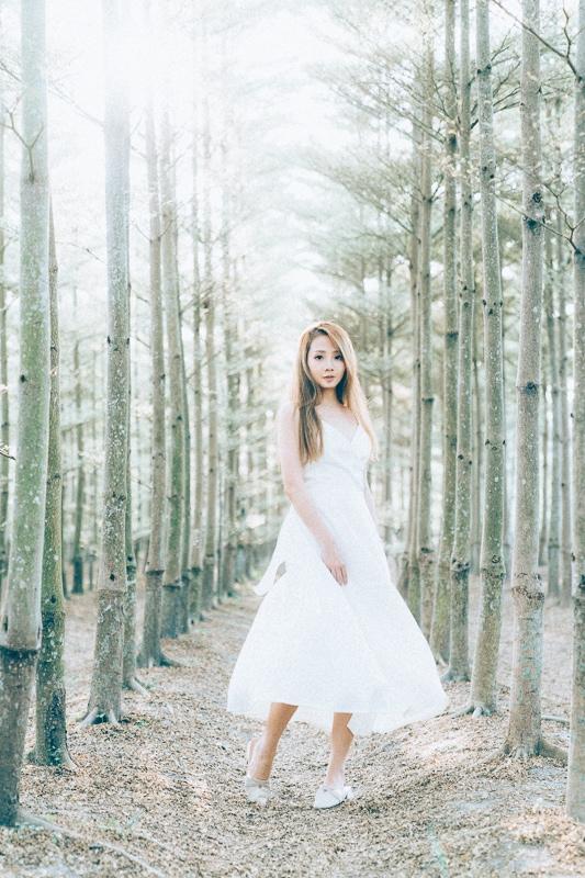 Tianwei girl012 田尾小葉欖仁森林