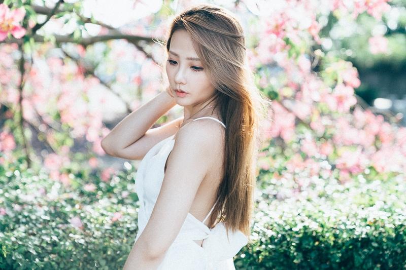 Tianwei girl013 田尾小葉欖仁森林