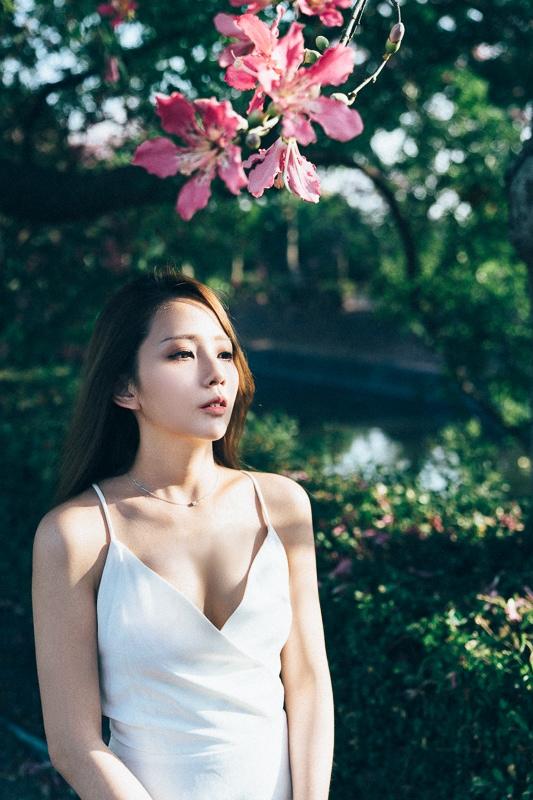 Tianwei girl014 田尾小葉欖仁森林