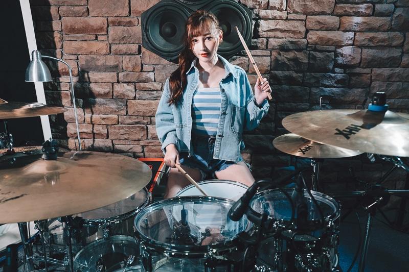chichi yen drum004 鼓手嚴琪琪