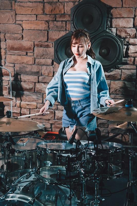 chichi yen drum006 鼓手嚴琪琪