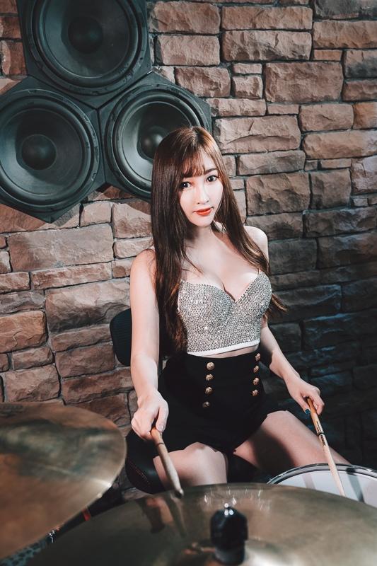 chichi yen drum008 鼓手嚴琪琪