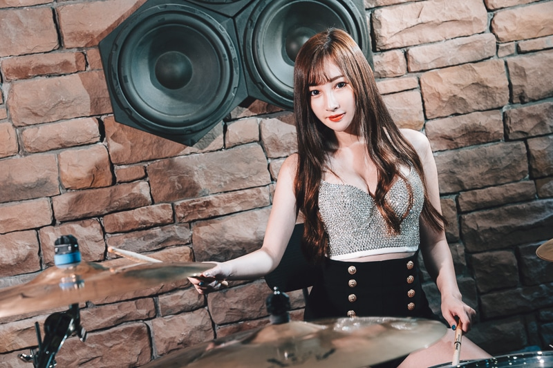 chichi yen drum009 鼓手嚴琪琪