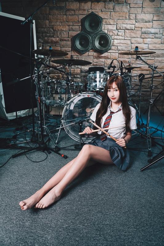 chichi yen drum012 鼓手嚴琪琪