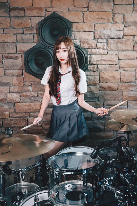 chichi yen drum013 鼓手嚴琪琪
