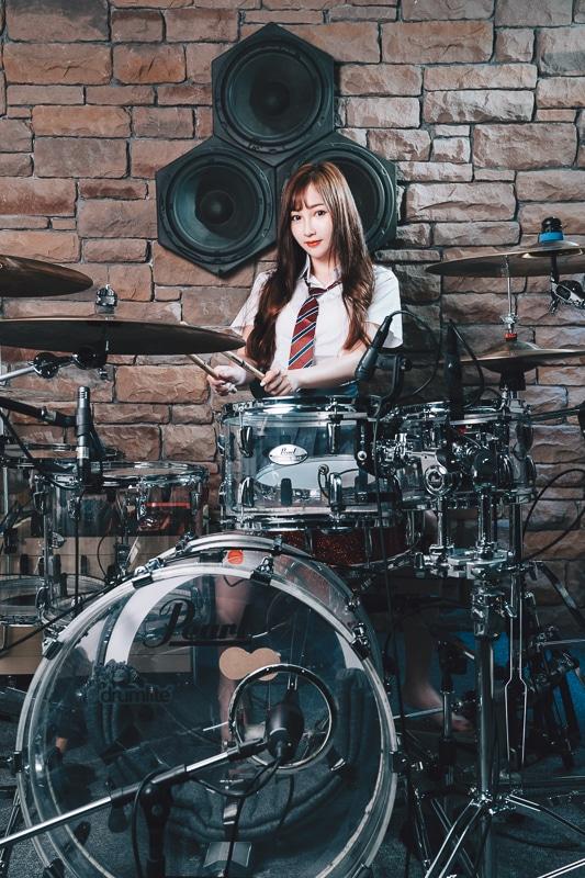 chichi yen drum016 鼓手嚴琪琪