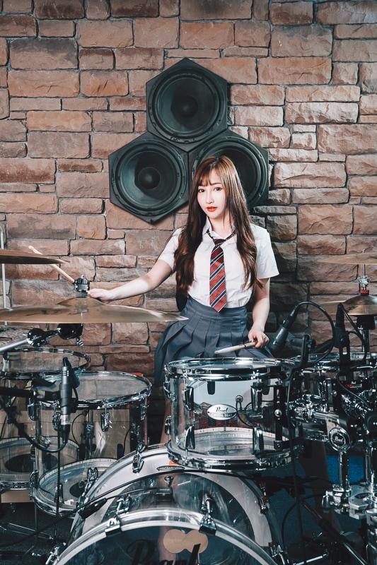 chichi yen drum018 鼓手嚴琪琪