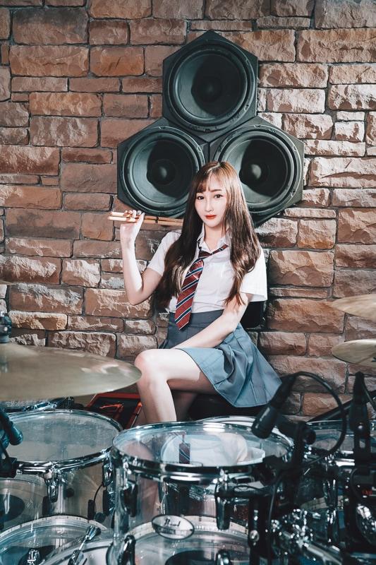 chichi yen drum019 鼓手嚴琪琪