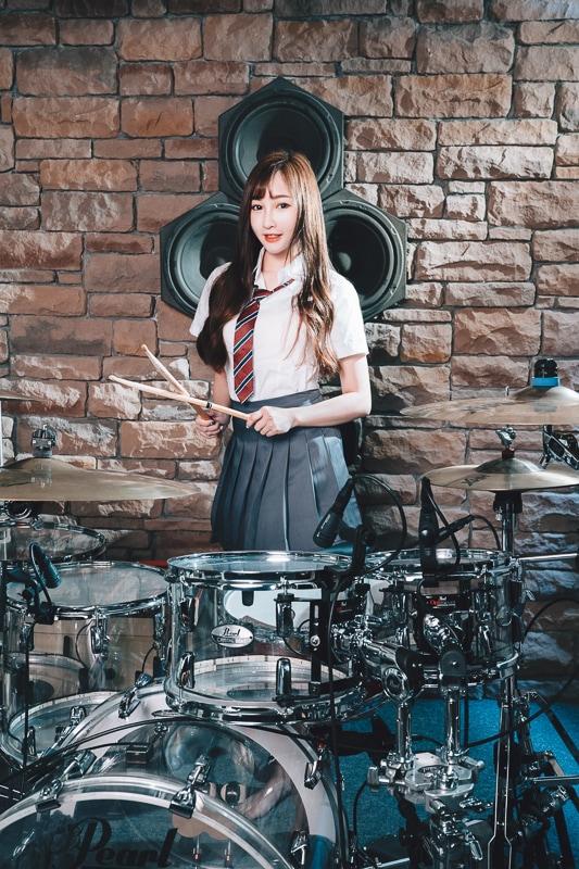 chichi yen drum020 鼓手嚴琪琪
