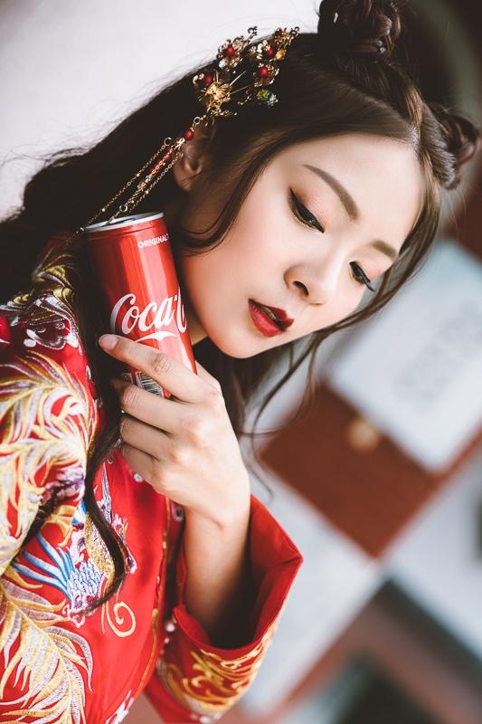 chinese wedding dress005 漢元素中國風龍鳳掛