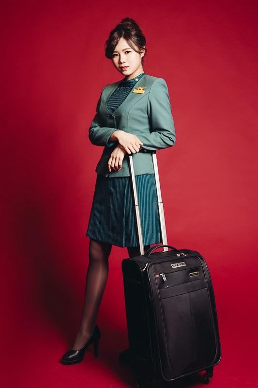eva air attendant 2 商業攝影-長榮航空形象照