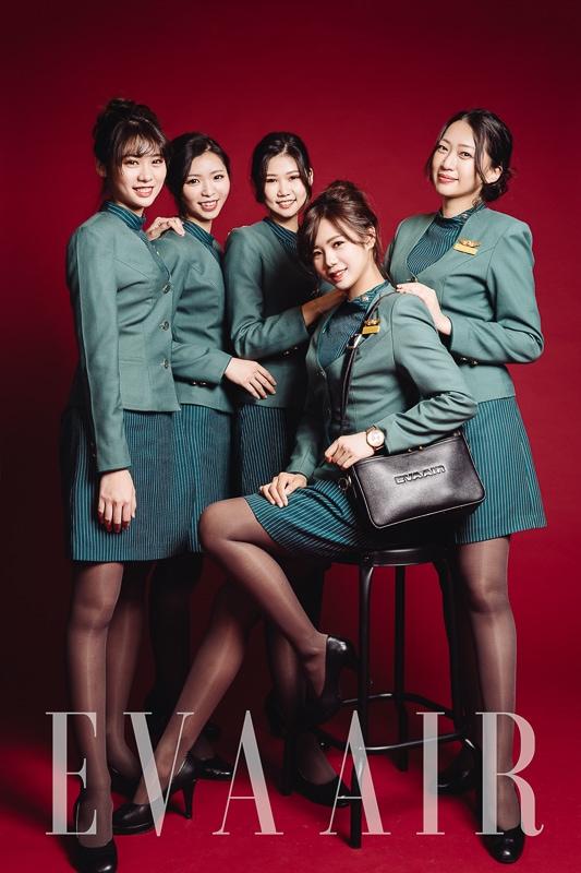 eva air attendant 3 商業攝影-長榮航空形象照