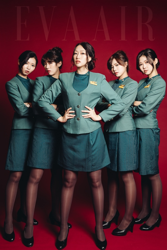 eva air attendant 4 商業攝影-長榮航空形象照