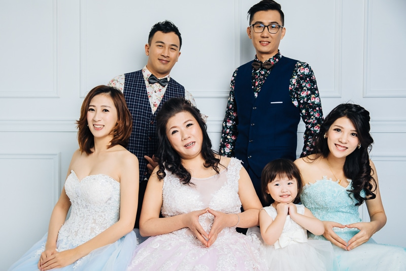 family 1 017 全家福 in 梨花247