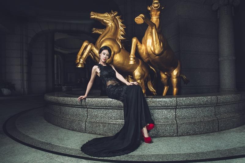 gold horse bride 3 婚紗寫真-金馬樣本