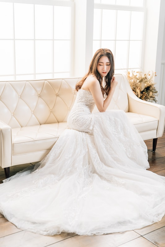 jiyeon wooo bride 2 婚紗寫真-獨家記憶