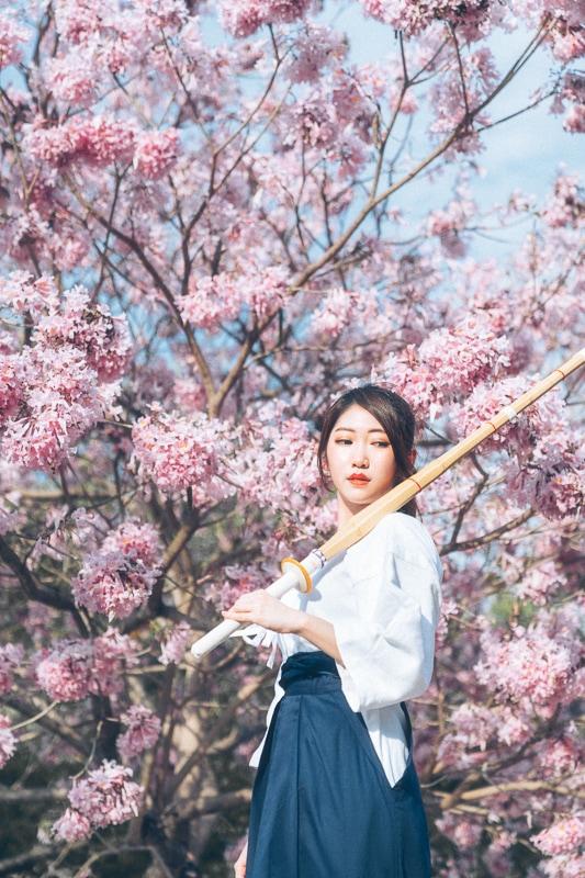 kendo Jiyeon wooo011 劍道少女Jiyeon_wooo