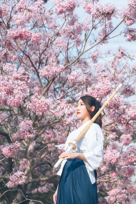 kendo Jiyeon wooo012 劍道少女Jiyeon_wooo
