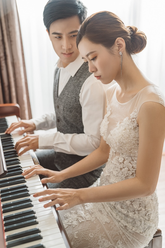 piano wedding 5 婚紗寫真-愛琴懸崖