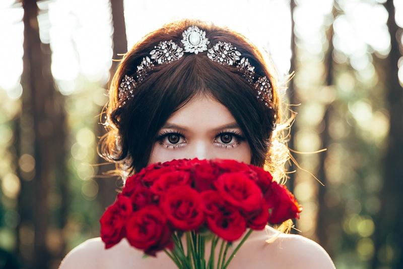 sunset forest bride 1 婚紗寫真-Vera