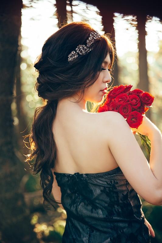 sunset forest bride 3 婚紗寫真-Vera