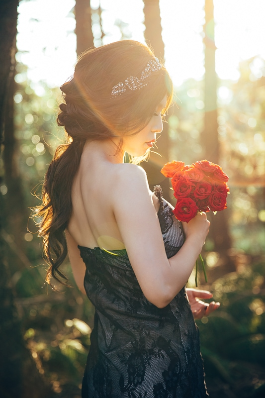 sunset forest bride 4 婚紗寫真-Vera