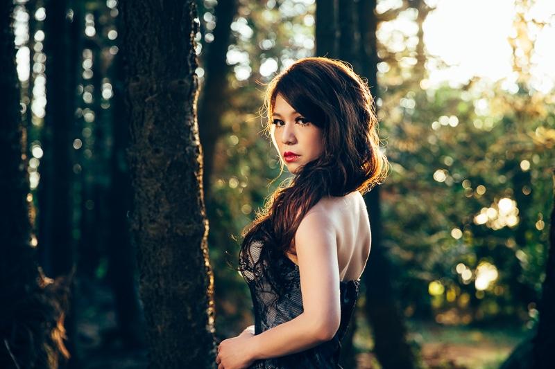 sunset forest bride 5 婚紗寫真-Vera