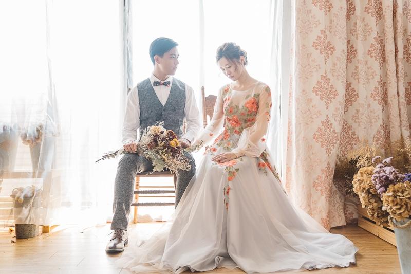 vintage flower wedding bridal 10 婚紗寫真-春芬