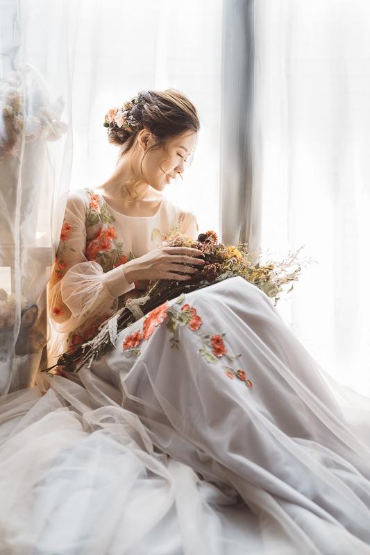vintage flower wedding bridal 13 婚紗寫真-春芬