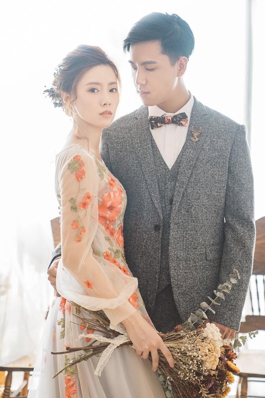 vintage flower wedding bridal 6 婚紗寫真-春芬