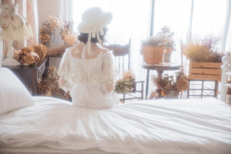 vintage wedding bridal 1 婚紗寫真-骨董婚紗