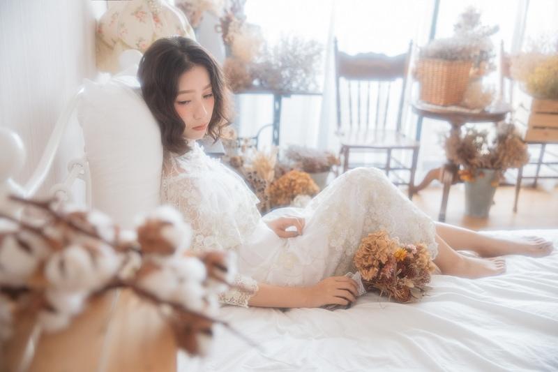vintage wedding bridal 3 婚紗寫真-骨董婚紗